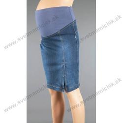 be71f0d11b98 Tehotenská riflová sukňa 3021