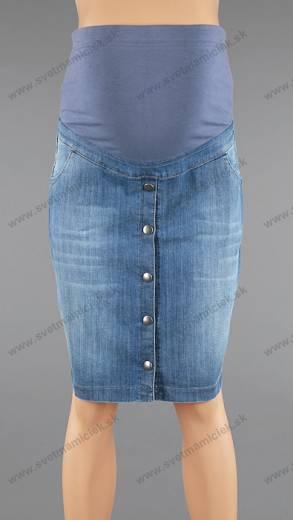 25479e030ae8 Tehotenská riflová sukňa