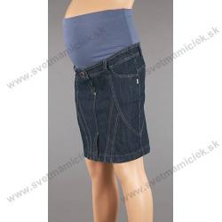 7ddc1c1c2647 Tehotenská riflová sukňa 3027